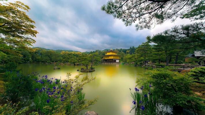 Китайский дом пруд