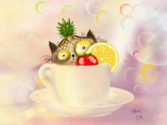 Милые кошарики в иллюстрациях от Jekaterina Cuikova (10 картинок)