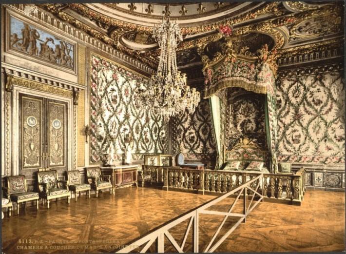 Роскошные королевские спальни (16 фото)