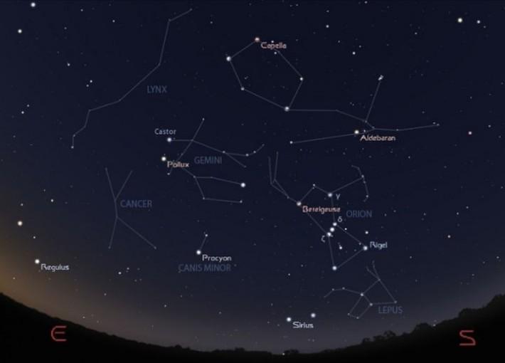 Как найти созвездия?