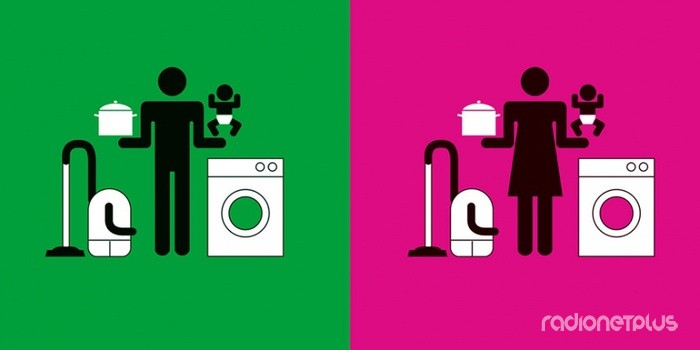Мужчина и женщина. Отличия. Современный мужчина. Домохозяйка