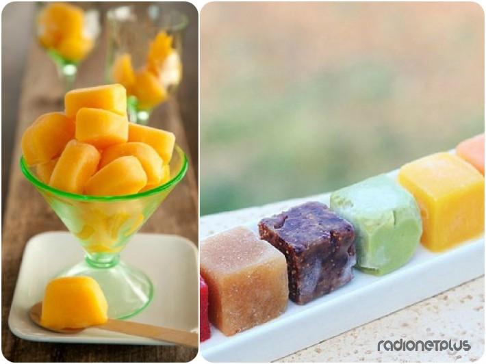 Персиковое или фруктовое пюре