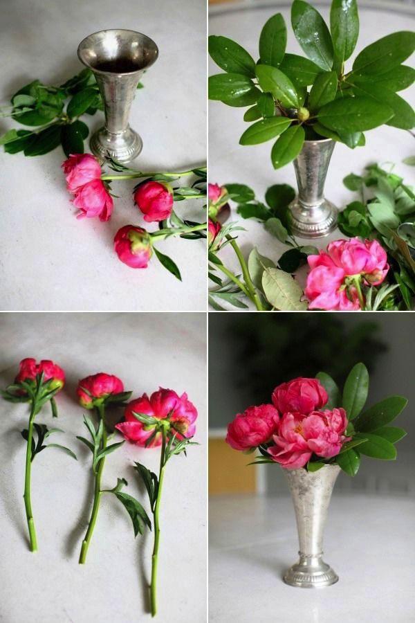 Как сделать так чтобы цветы стояли в воде дольше