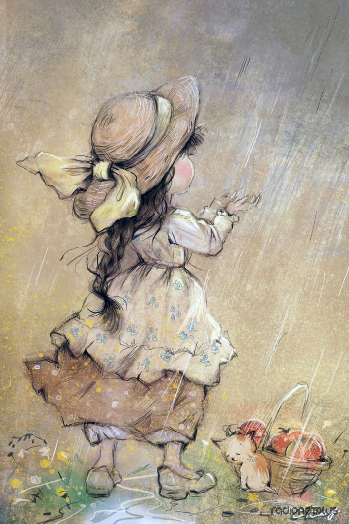 Милые акварели от Екатерины Бабок » RadioNetPlus.ru ... Талантливые Дети Клипарт