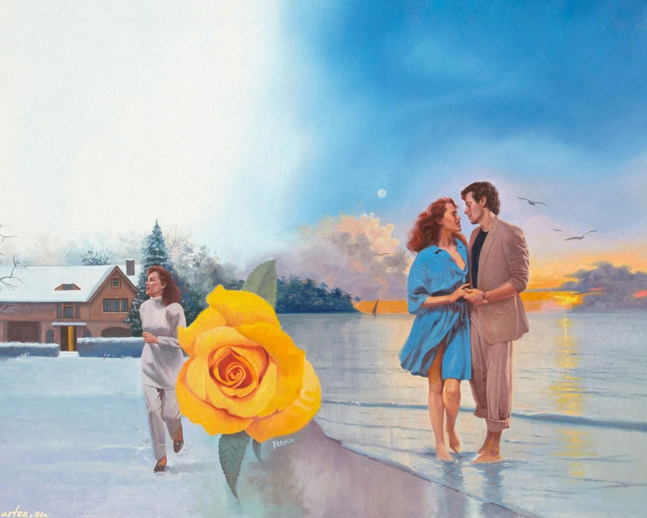 романтическая история знакомства на море