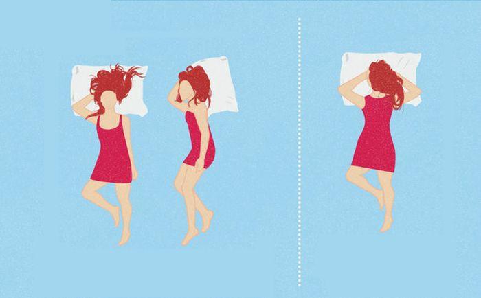 10 правильных поз сна, которые избавят вас от боли