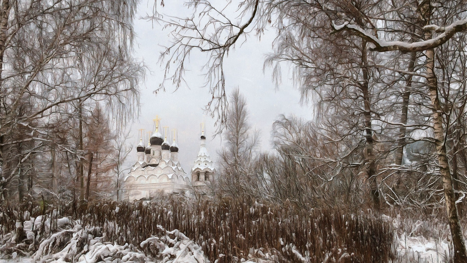 Уютные Зимние Картинки На Рабочий Стол